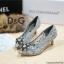 รองเท้าคัทชูส้นสูง DOLCE&GABBANA (สีเทา) thumbnail 2