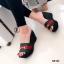 รองเท้าส้นเตารีดสไตล์กุชชี่ (สีดำ ) thumbnail 2