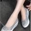 รองเท้าผ้าใบทรงคัชชู สไตล์สุขภาพ (สีเทา ) thumbnail 1