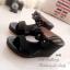 รองเท้าส้นเตารีด สไตล์ลำลอง (สีดำ) thumbnail 2