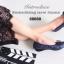 รองเท้าคัทชูส้นเตี้ย หัวตัด บุนวม (สีน้ำเงิน ) thumbnail 6