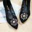รองเท้าคัทชูส้นสูง DOLCE&GABBANA (สีดำา) thumbnail 3