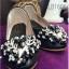 รองเท้าคัทชูส้นเตี้ย หนังวิงค์วิงค์ (สีดำ ) thumbnail 1