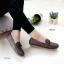 รองเท้าหุ้มส้นผู้หญิง สไตล์Loafer (สีน้ำตาล ) thumbnail 2