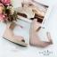 รองเท้าส้นเตารีดรัดข้อ (สีชมพู) thumbnail 3
