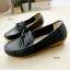 รองเท้าหุ้มส้นผู้หญิง สไตล์Loafer (สีดำ ) thumbnail 2
