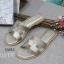 รองเท้าแตะ แบบสวม สไตล์H (สีเทา ) thumbnail 3