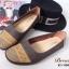 รองเท้าคัชชู สไตล์สุขภาพ หนังนิ่ม (สีน้ำตาล ) thumbnail 5