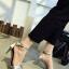 รองเท้าส้นสูงรัดส้น สไตล์Zara (สีเงิน ) thumbnail 1
