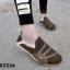 รองเท้าผ้าใบผู้หญิง สไตล์สปอร์ตเกิร์ล (สีน้ำตาล ) thumbnail 2