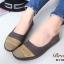 รองเท้าคัชชู สไตล์สุขภาพ หนังนิ่ม (สีน้ำตาล ) thumbnail 2