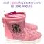 รองเท้าบู๊ทเด็ก สีชมพู thumbnail 1