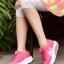 รองเท้าผ้าใบเสริมส้น ผ้าตาข่ายบุนวม (สีชมพู ) thumbnail 1