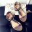 รองเท้าแตะผู้หญิงสีสีบรอนด์ชา งานdior (สีบรอนด์ชา) thumbnail 5