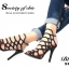 รองเท้าส้นสูง สไตล์Schuts (สีดำ) thumbnail 4