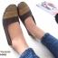 รองเท้าคัชชู สไตล์สุขภาพ หนังนิ่ม (สีน้ำตาล ) thumbnail 3