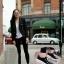 รองเท้าผ้าใบผู้หญิง ทรงมัฟฟิน สไตล์MiuMiu (สีดำ ) thumbnail 2
