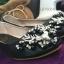 รองเท้าคัทชูส้นเตี้ย หนังวิงค์วิงค์ (สีดำ ) thumbnail 2