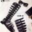 รองเท้าสไตล์Gladiater Sandals ตอกหมุดด้านข้าง (สีดำ ) thumbnail 7