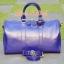 กระเป๋าหนังแท้ Lorita - VioletBlue thumbnail 1