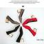 รองเท้าคัทชูส้นตัน ทรงหัวแหลม แต่งส้นสีทอง (สีดำ ) thumbnail 5