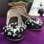 รองเท้าคัทชูส้นเตี้ย หนังวิงค์วิงค์ (สีดำ ) thumbnail 3