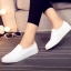 รองเท้าผ้าใบแฟชั่น ทรงนินจา (สีขาว ) thumbnail 5
