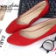 รองเท้าคัชชู สไตล์แบรนด์ZARA หนังกำมะหยี่นิ่ม (สีแดง ) thumbnail 5