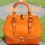 กระเป๋าหนังแท้ Bello - Orange thumbnail 1