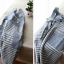 ผ้ากันเปื้อนผู้ใหญ่สไตล์ญีุ่่น ผ้าฝ้ายญี่ปุ่น แต่งกระเป๋าหน้า thumbnail 5