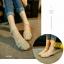 รองเท้าส้นเตี้ย รัดส้น หน้าสาน (สีครีม ) thumbnail 4
