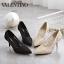 รองเท้าคัชชู STYLE VALENTINO (สีดำ) thumbnail 6