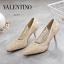 รองเท้าคัชชูส้นสูง STYLE VALENTINO (สีครีม) thumbnail 3