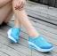 รองเท้าผ้าใบเสริมส้น Sport Girl (สีฟ้า ) thumbnail 4