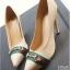 รองเท้าคัทชูส้นสูง หัวแหลม (สีแอปปริคอท ) thumbnail 1