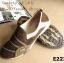 รองเท้าผ้าใบผู้หญิง สไตล์สปอร์ตเกิร์ล (สีน้ำตาล ) thumbnail 3