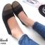 รองเท้าคัชชู สไตล์สุขภาพ หนังนิ่ม (สีดำ ) thumbnail 4