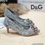 รองเท้าคัทชูส้นสูง DOLCE&GABBANA (สีเทา) thumbnail 4