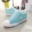 รองเท้าผ้าใบ Sneaker Converse Style (สีเขียว ) thumbnail 5