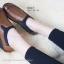 รองเท้าคัทชูเพื่อสุภาพ สไตล์สปอร์เกิร์ล (สีน้ำตาล ) thumbnail 6