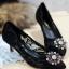 รองเท้าคัทชูส้นสูง DOLCE&GABBANA (สีดำา) thumbnail 4