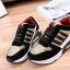 รองเท้าผ้าใบสีดำ-ทอง STYLE ADIDAS (สีทอง) thumbnail 6