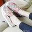 รองเท้าผ้าใบผู้หญิง พื้นยาง พิมพ์ลายดอกไม้ (สีเหลือง ) thumbnail 4