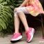 รองเท้าผ้าใบเสริมส้น ผ้าตาข่ายบุนวม (สีชมพู ) thumbnail 2