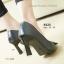รองเท้าคัทชูส้นสูง หัวแหลม แต่งคริสตัลใส (สีดำ) thumbnail 4