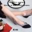 รองเท้าคัทชูหัวแหลม แต่งโบว์ สีทูโทน (สีดำ ) thumbnail 5