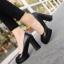รองเท้าคัทชูส้นสูง หัวกลม ทรงสุภาพ (สีดำ ) thumbnail 3