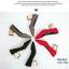 รองเท้าคัทชูส้นตัน ทรงหัวแหลม แต่งส้นสีทอง (สีแดง ) thumbnail 4