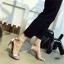 รองเท้าส้นสูงรัดส้น สไตล์Zara (สีเงิน ) thumbnail 3