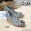 รองเท้าคัทชูส้นสูง DOLCE&GABBANA (สีเทา) thumbnail 3